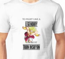 Train Insaiyan - Fight Like a Legendary Unisex T-Shirt
