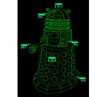 Exterminate the Robot - Dark Photographic Print