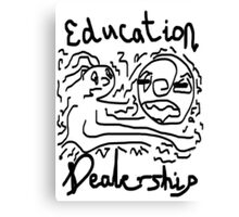 Education dealership Canvas Print