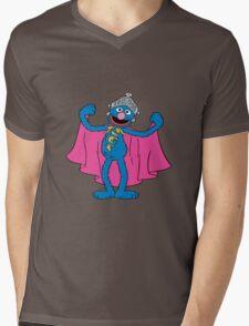 Super Grover Mens V-Neck T-Shirt