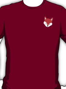 Cute Peeking Red Fox  T-Shirt