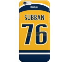 Nashville Predators P. K. Subban Jersey Back Phone Case iPhone Case/Skin