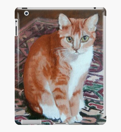 Spike on Granny's Carpet iPad Case/Skin