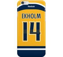 Nashville Predators Mattias Ekholm Jersey Back Phone Case iPhone Case/Skin