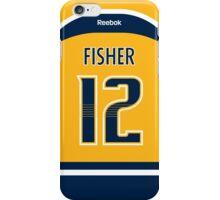 Nashville Predators Mike Fisher Jersey Back Phone Case iPhone Case/Skin