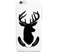 Intuition and Vision (Black) iPhone Case/Skin