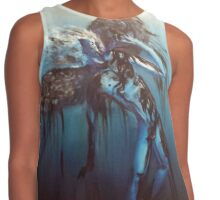 Oily Blue Icarus Contrast Tank