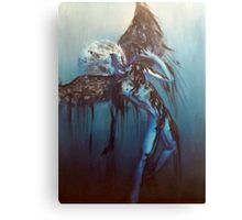Oily Blue Icarus Canvas Print