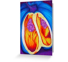 Abstract Pepper Greeting Card