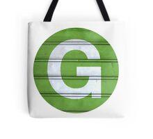 G TRAIN Tote Bag