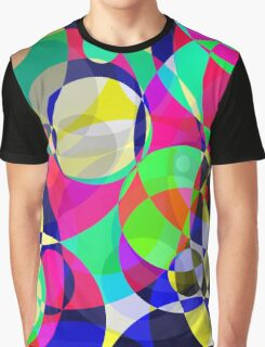 Psychedelic Circle Abstract Pattern  Graphic T-Shirt