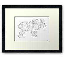 Wild Goat Framed Print