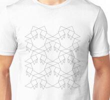Heavy Rain Origami Pattern Unisex T-Shirt