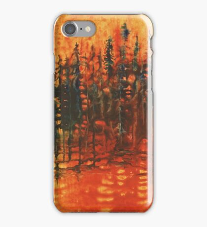 Forest Glow #3 iPhone Case/Skin