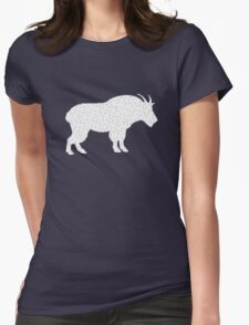 Wild Goat Womens Fitted T-Shirt