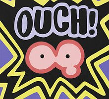 Kirby Ouch by likelikes