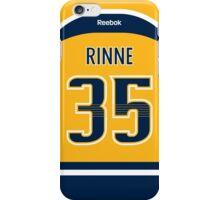 Nashville Predators Pekka Rinne Jersey Back Phone Case iPhone Case/Skin