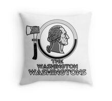 The Washington Washingtons Throw Pillow