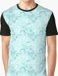 Bow Pattern Graphic T-Shirt