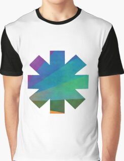 Red Hot Chili Peppers Colours Graphic T-Shirt