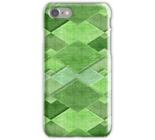 Decorative rural pattern in pastel colors iPhone Case/Skin
