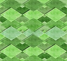 Decorative rural pattern in pastel colors Photographic Print