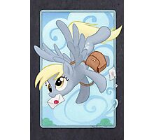 Derpy Mail Photographic Print