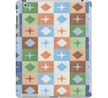 Retro tablecloth iPad Case/Skin