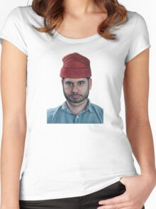 H3H3 - Ethan Klein  Women's Fitted Scoop T-Shirt