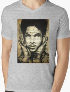 prince purple rain Mens V-Neck T-Shirt
