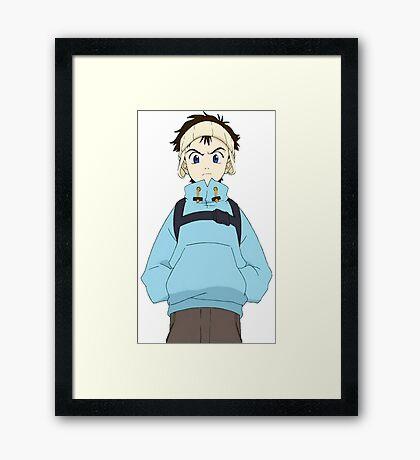 FLCL - Naota Framed Print
