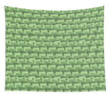 Multicolor Knitted Pattern Wall Tapestry