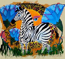The African Zebra by Ginny Luttrell