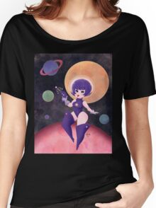 Space Babe  Women's Relaxed Fit T-Shirt