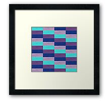 vector oriental style pattern Framed Print