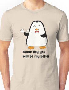 Betler penguin Unisex T-Shirt