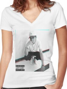 Kris Wu - Album Cover (MOC)  Women's Fitted V-Neck T-Shirt