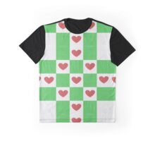 Vector knitted geometrical  Graphic T-Shirt