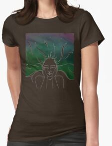 Lost in Thought * Womens Fitted T-Shirt