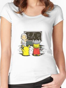 Pop culture Women's Fitted Scoop T-Shirt