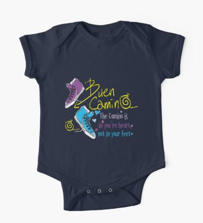 The camino is in you're heart One Piece - Short Sleeve