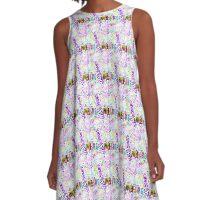 Pretty street art=punk'dpop summer edition A-Line Dress