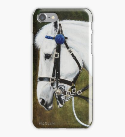 Merlin- the Major Generals Horse iPhone Case/Skin