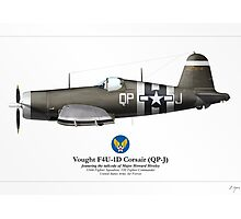 F4U-1D Corsair (US Army Air Force) Photographic Print