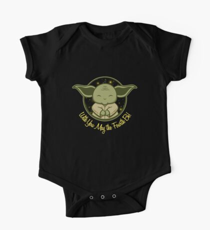 With You May the 4th Be One Piece - Short Sleeve