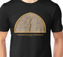"""""""The Details are not the Details. They make the Design."""" - Charles Eames Unisex T-Shirt"""