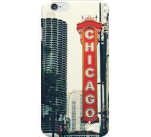 Chicago Theatre Sign iPhone Case/Skin