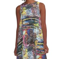 Paintbrushes A-Line Dress