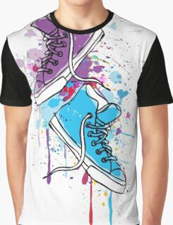 Colorful sneakers Graphic T-Shirt