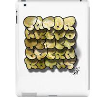 SATOR CUBE STREET VERSION iPad Case/Skin